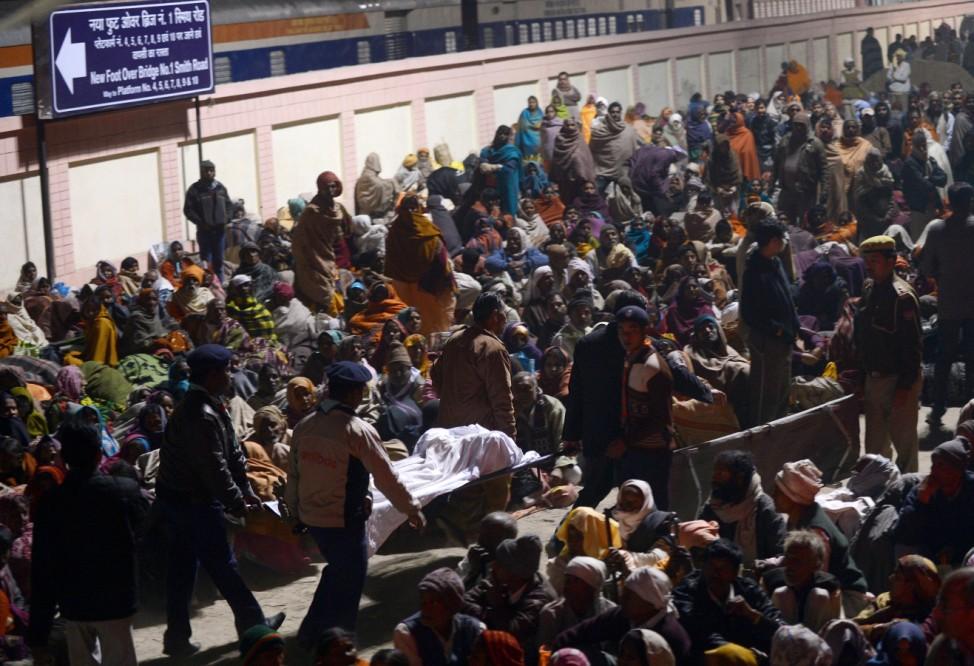 Massenpanik beim Kumbh Mela Fest in Indien