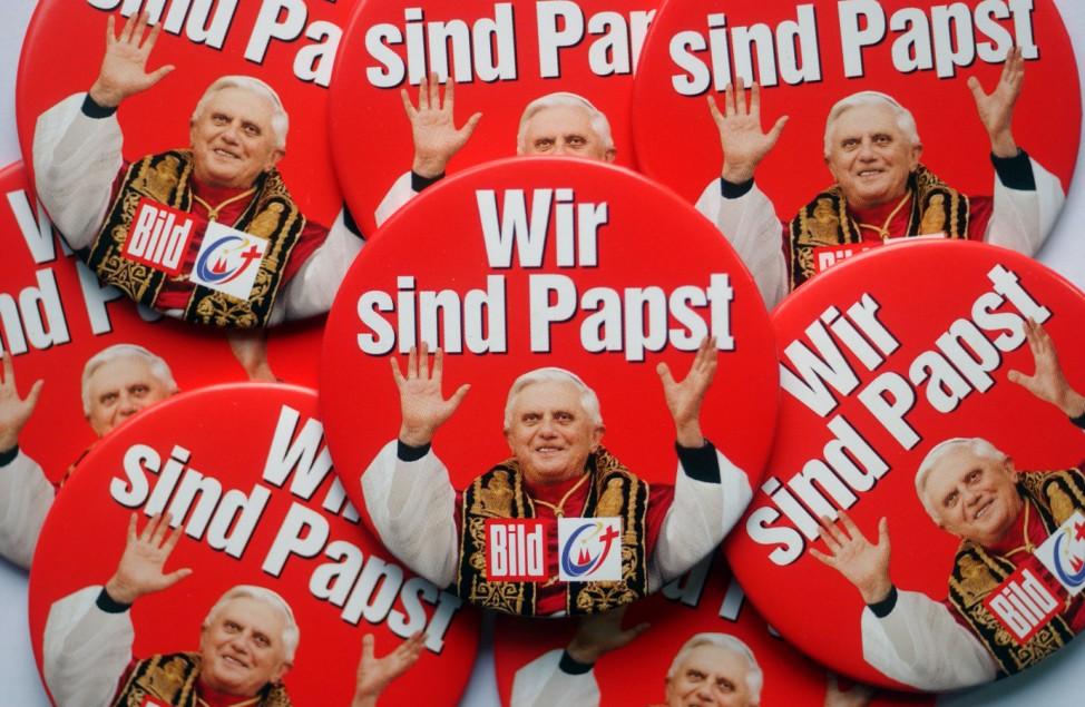 BILD ist Medienpartner des Weltjugendtages 2005 in Köln