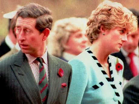 Prince Charles, Diana; Foto: AP