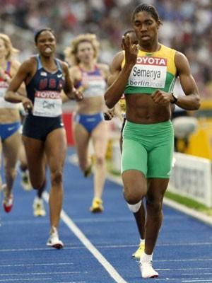 800-m-Läuferin Caster Semenya;AP