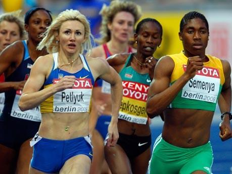 800-m-Läuferin Caster Semenya;Getty