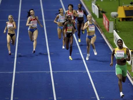 800-m-Läuferin Caster Semenya;AFP