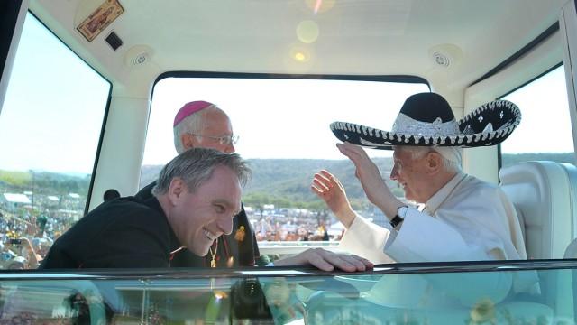 Benedikt XVI. bei einem Besuch in Mexiko