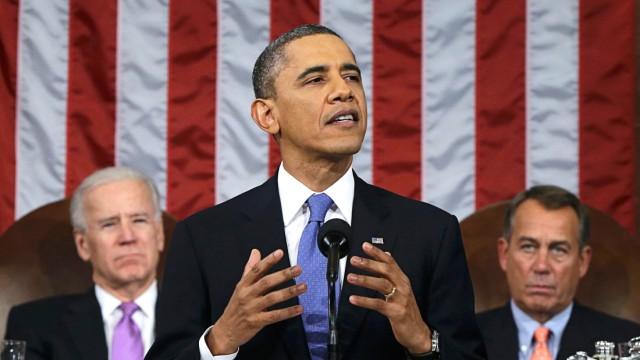 Barack Obama Rede zur Lage der Nation