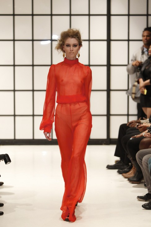 Elie Kuame Couture Of Paris - Runway - Fall 2013 Mercedes-Benz Fashion Week