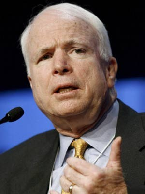John McCain, Präsidentschaftskandidat, Republikaner, dpa