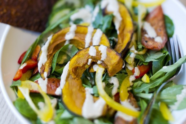 Veganes Essen - im Gratitude sieht es auch gut aus.