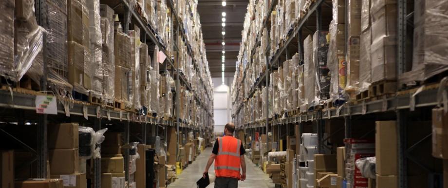 Arbeitsbedingungen im Amazon-Logistikzentrum