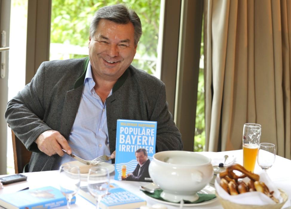 Waldemar Hartmann stellt Buch vor, 2010