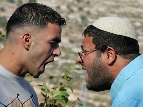 Streit zwischen Isaraeli und Palästinenser, AFP