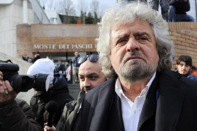 Wahlen Italien - BeppeGrillo