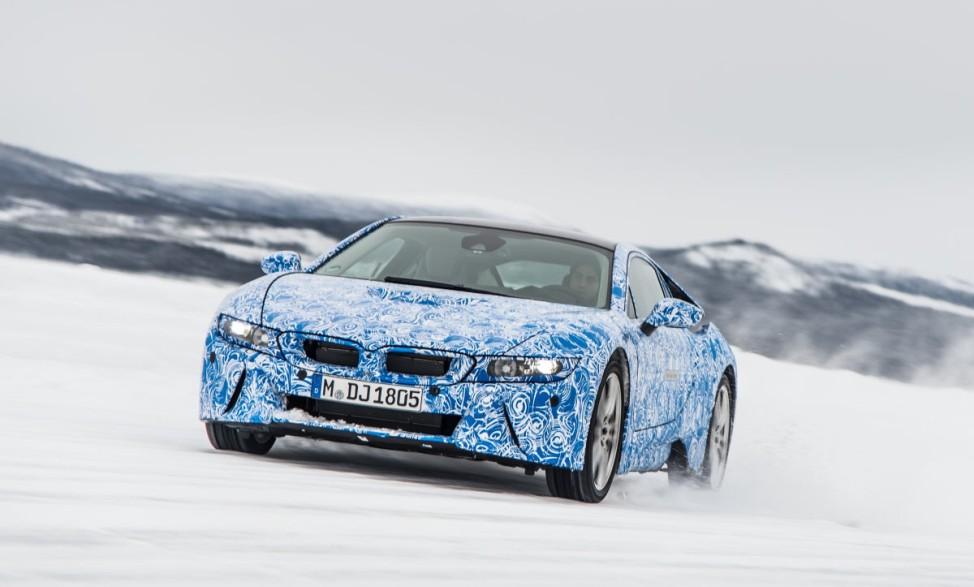 BMW, i8, Prototyp, BMW i, Erprobung, Elektroauto, Hybrid, i3
