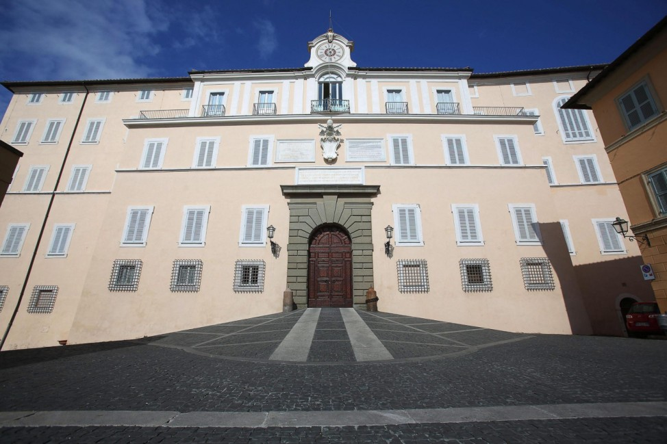 Castel Gandolfo, the papal summer retreat