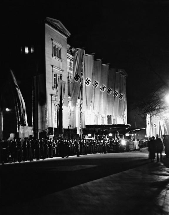 Krolloper in Berlin, 1938 | Kroll Opera House in Berlin, 1938