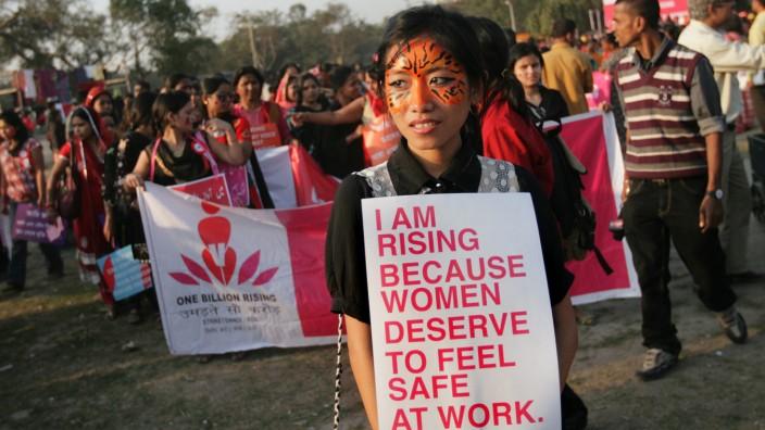 Rally in Calcutta
