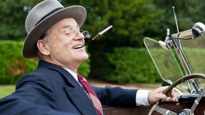 "Bill Murray in ""Hyde Park am Hudson"", Kino"