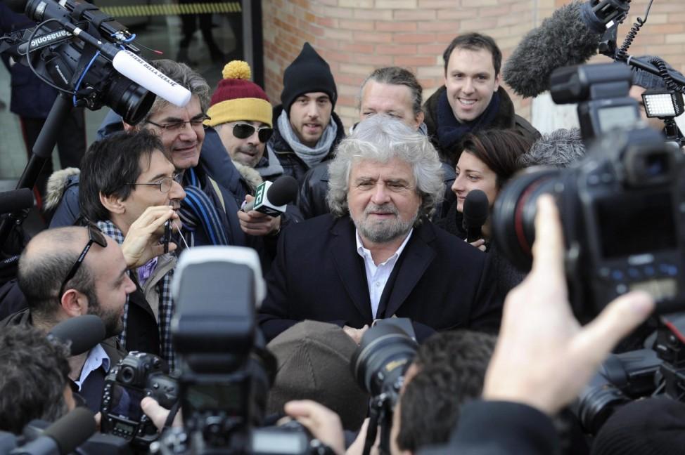 Italiens Jugend vor der Wahl - Beppe Grillo