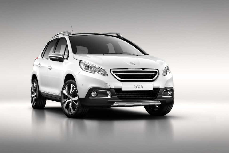 Crossover auf Kleinwagenbasis:Peugeot kündigt 2008 an