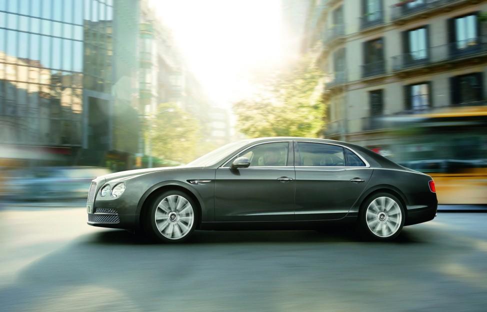Neuer Flying Spur wird stärkste Limousine der Bentley-Geschichte