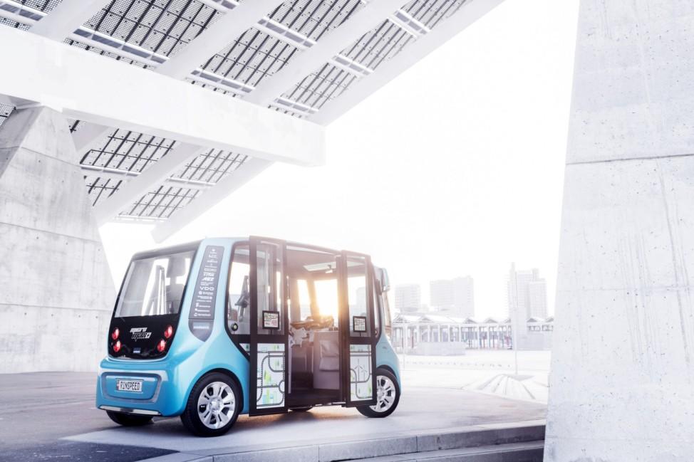 Neue Mobilitätsplattform von Rinspeed