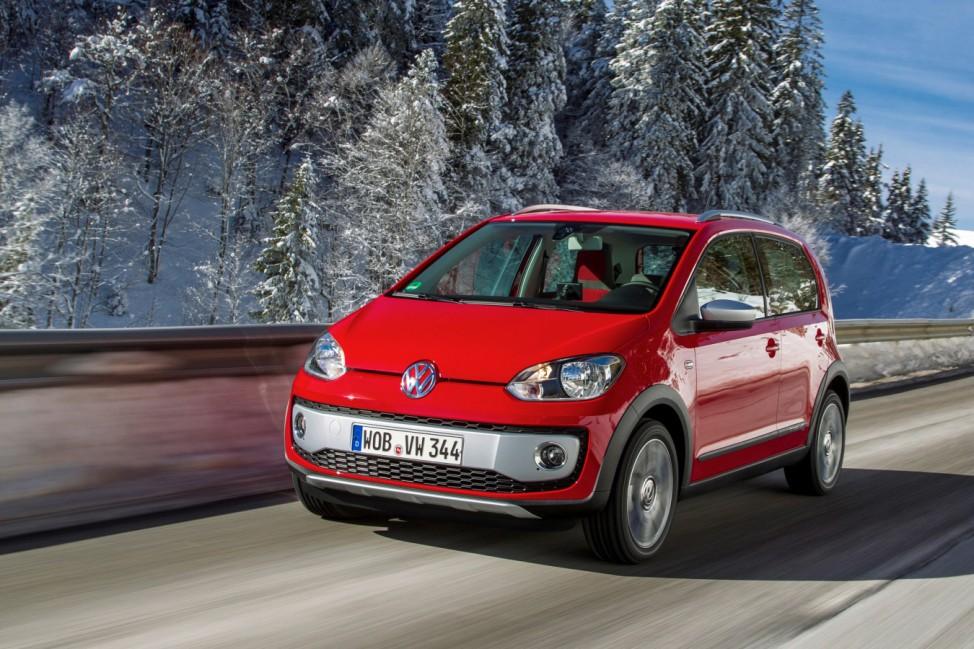 Stadtauto auf Abwegen:VW Cross Up kommt zum nächsten Herbst