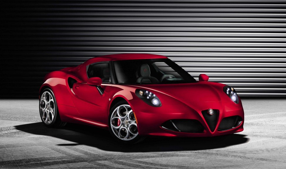 Alfa Romeo 4C, Alfa Romeo, 4C, Autosalon Genf, Genf, Sportcoupé