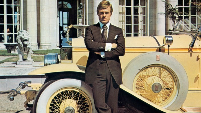 Robert Redford In 'The Great Gatsby'