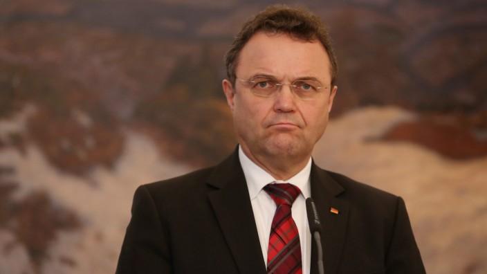 German Interior Minister Hans Peter Friedrich in Prague