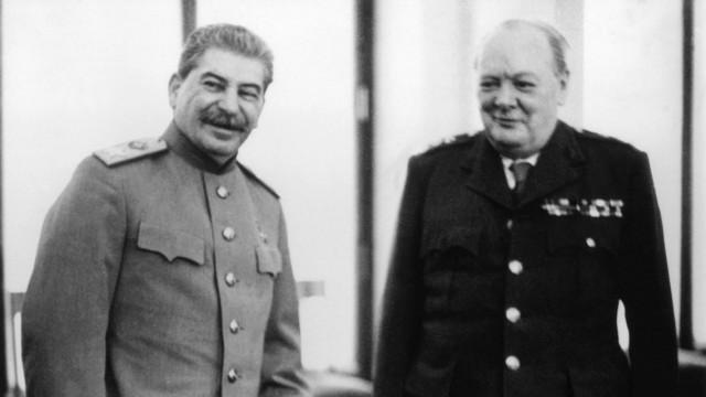 Joseph Stalin Winston Churchill Barbarossa 2. Weltkrieg Sowjetunion