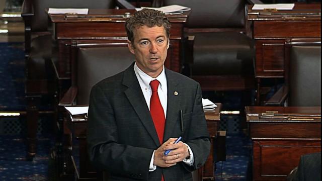 Rand Paul Senate Filibuster Brennan