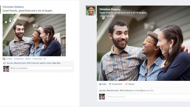 Facebook baut Anzeige von Neuigkeiten um