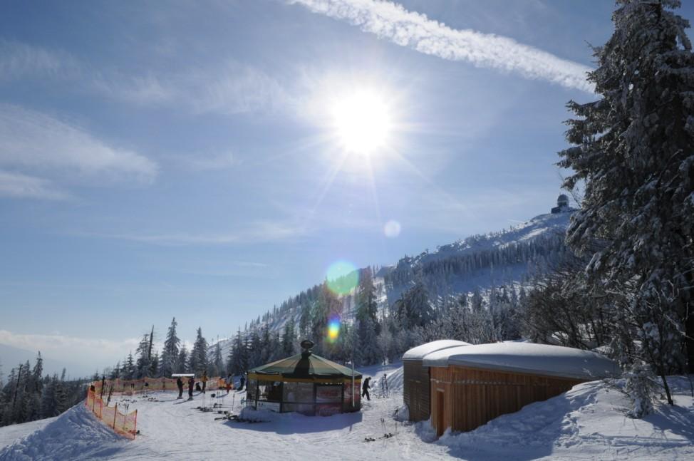 Großer Arber, Ski, Skigebiet