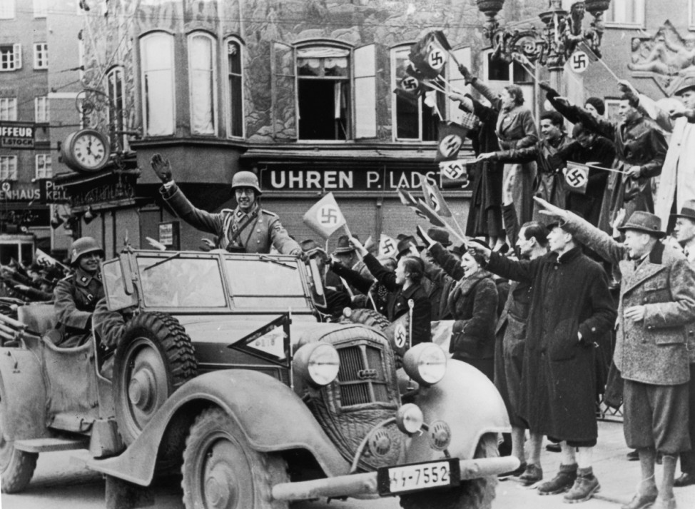 (FILE) 75 Years Since Anschluss Of Germany And Austria