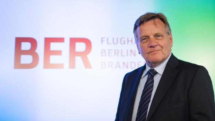 Hartmut Mehdorn wird neuer Chef des Berliner Pannen-Flughafens