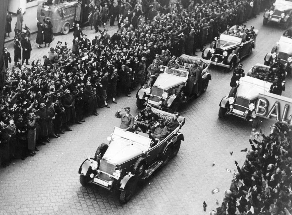 Adolf Hitler in Wien, 1938