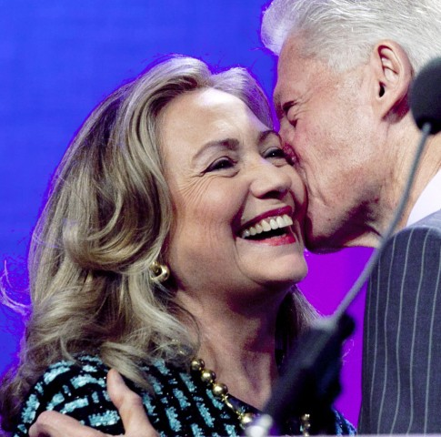 Bill Clinton, Hillary Rodham Clinton
