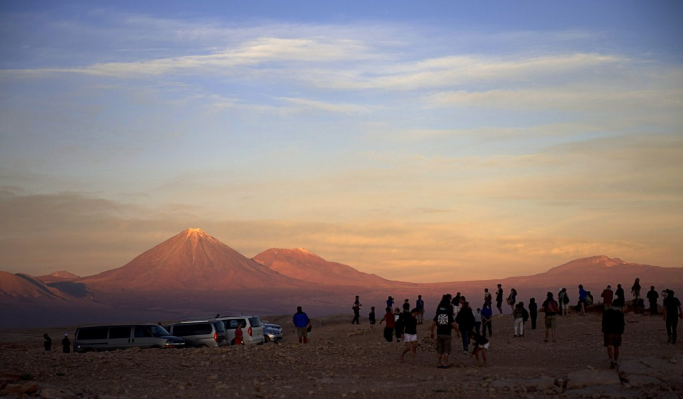 Moon Valley bei San Pedro de Atacam im Norden von Chile