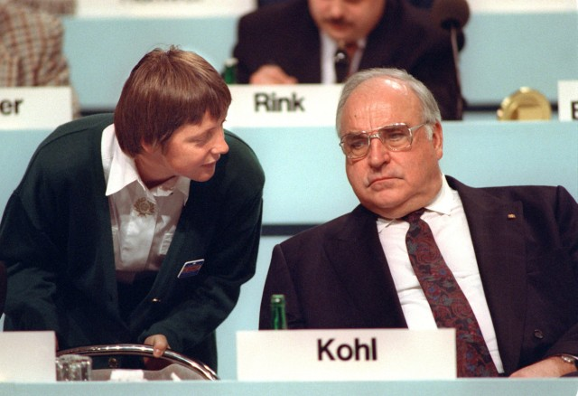 Angela Merkel zehn Jahre CDU-Vorsitzende