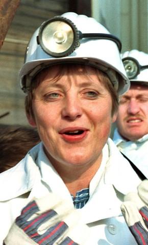 Angela Merkel in Gorleben