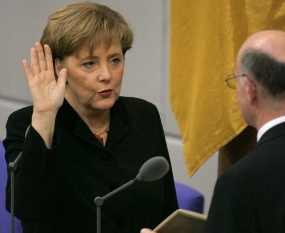 Kanzlerwahl - Amtseid