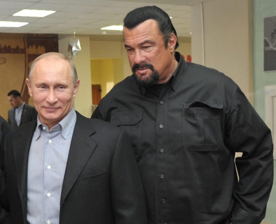 Wladimir Putin, Steven Seagal