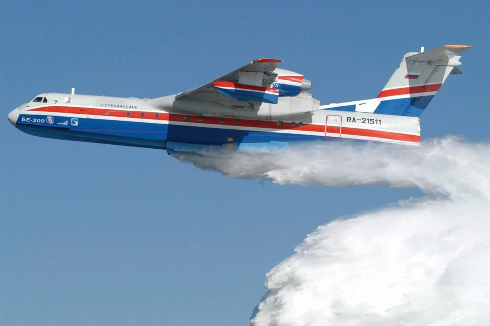 Indonesien least zwei russische BE-200-Löschflugzeuge