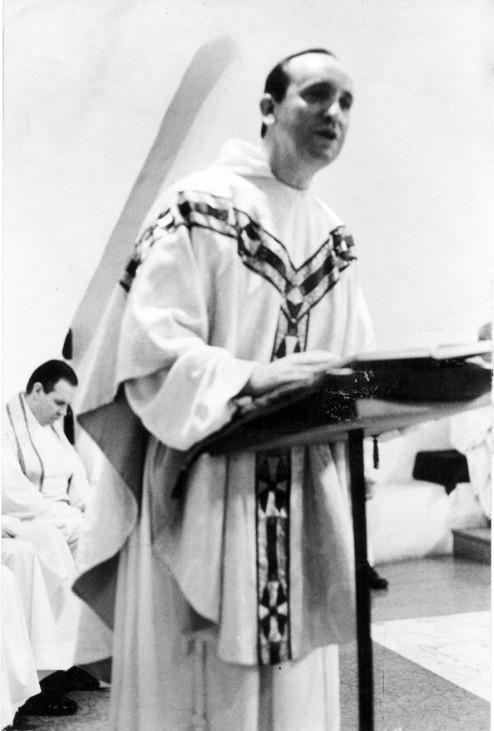Undated handout photo of Argentine Cardinal Bergoglio