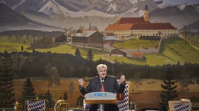 Starkbierfest Reutberg Seehofer