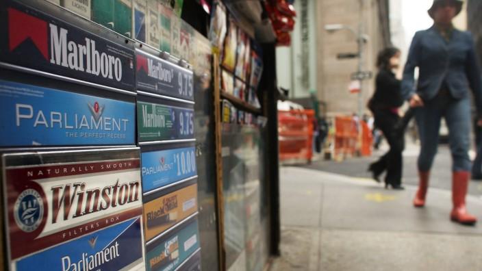 New Yorks Bürgermeister Bloomberg will Zigaretten unter die Ladentheke verbannen