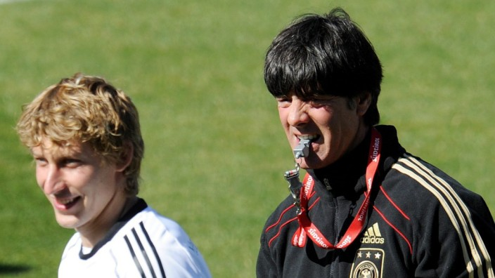 Stefan Kießling  Jogi Löw, Joachim Löw, WM-Qualifikation, DFB Fußball Deutschland Kasachstan