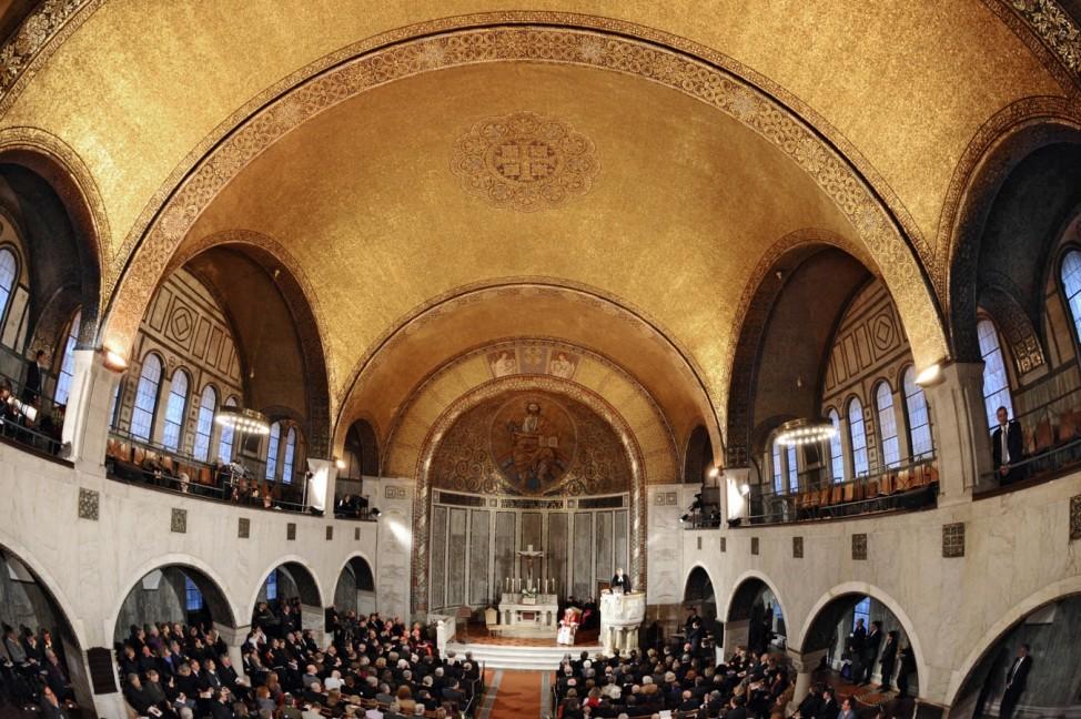 Christuskirche Rom ZDF Gottesdienst