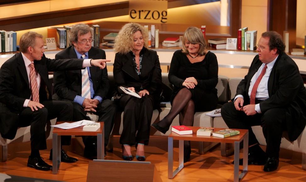 Unsere Besten ZDF Johannes B. Kerner Ottfried Fischer Susanne Fröhlich Alice Schwarzer Helmut Karasek