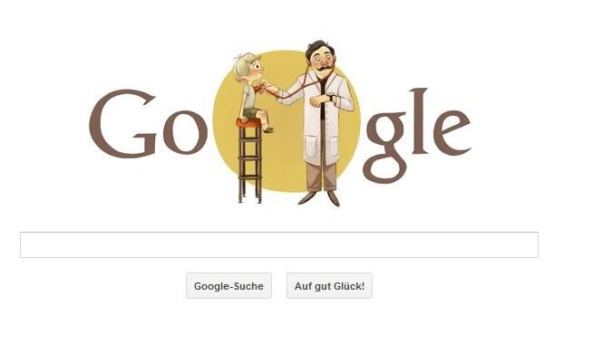 Google Doodle Adalbert Czerny Unnützes Google Doodle Wissen