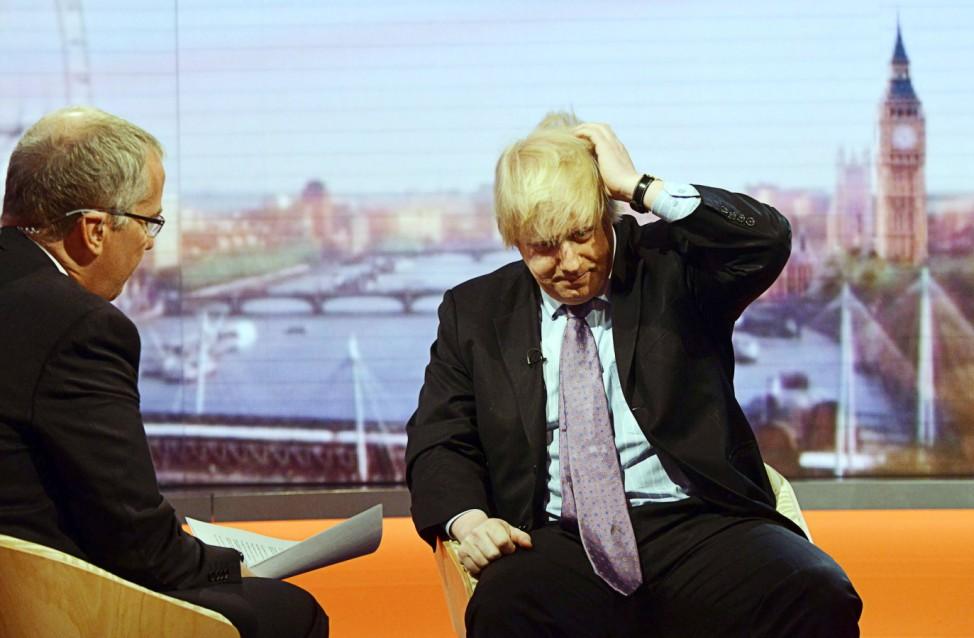 Boris Johnson, Bürgermeister London, BBC, Interview